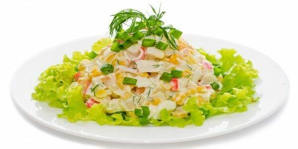 как готовить салат крабовый