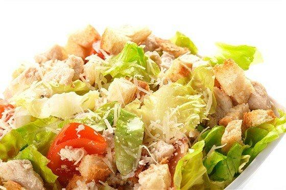 салат цезарь с курицей рецепт с фото технология