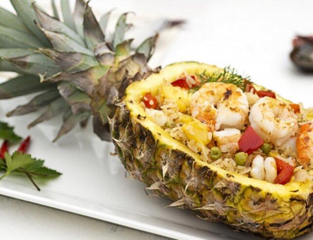 Салат ананас - рецепт приготовления
