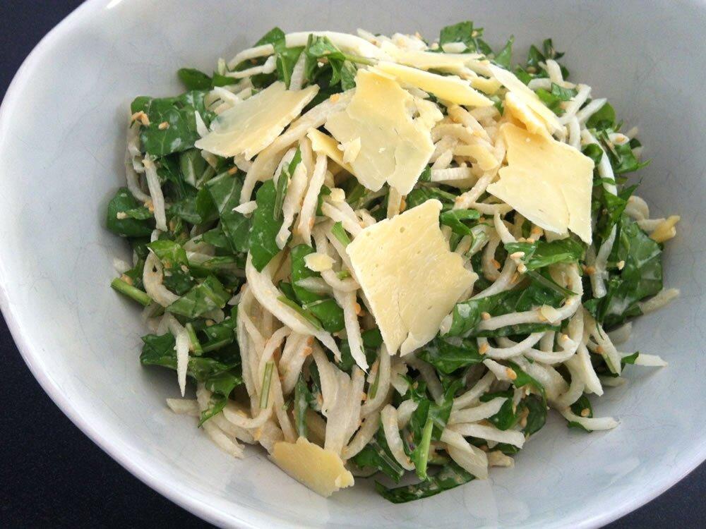 Салат из дайкона рецепт приготовления