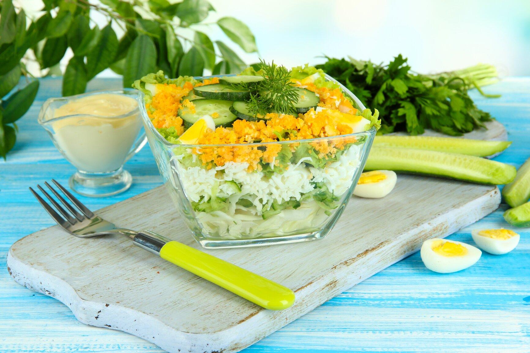 как сделать салат из капусты