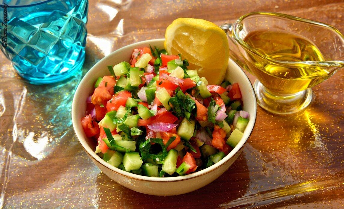 лучший салат из помидоров