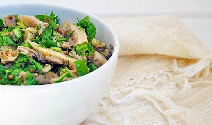лучший салат с грибами