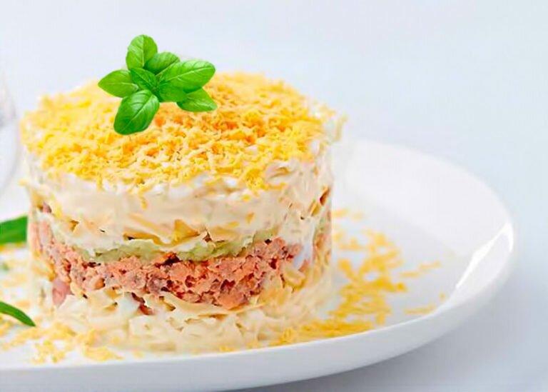 нежность салат