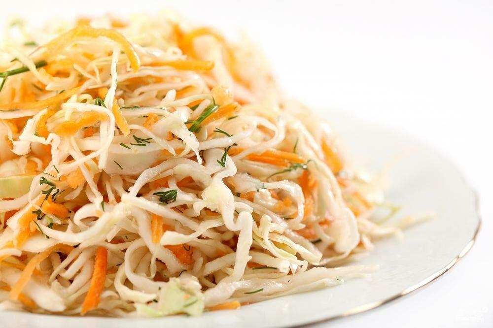 салат из капусты рецепт приготовления