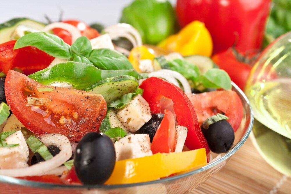 салат из помидоров рецепт приготовления