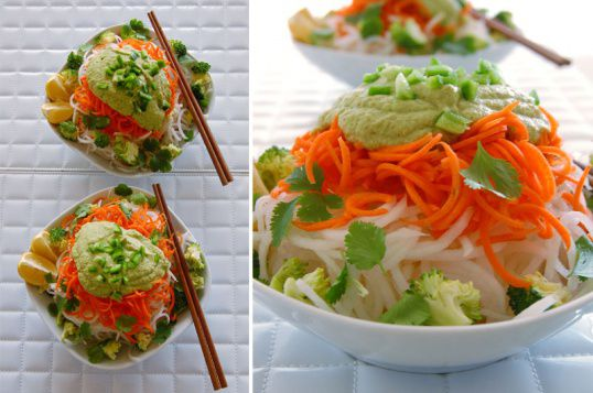 салат из редьки дайкон рецепт
