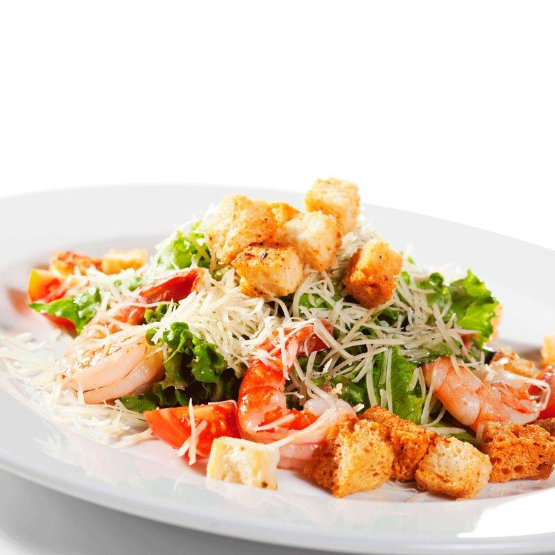 салат с креветками и помидорами рецепт приготовления