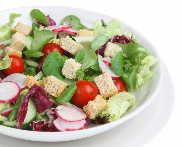 вкусный салат из редиски