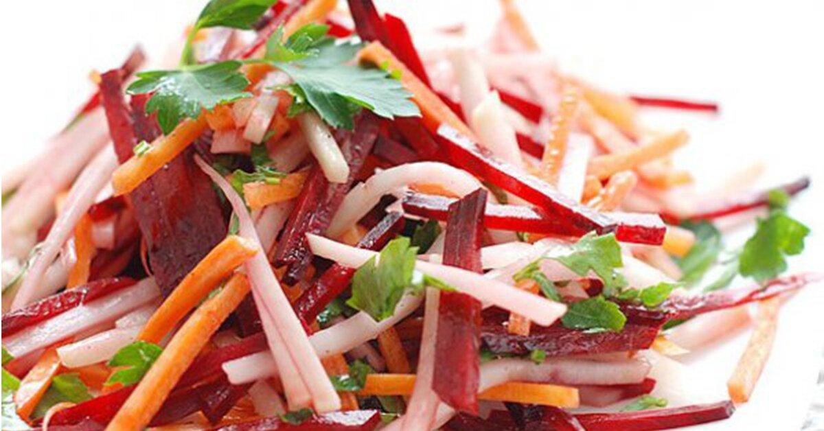 как готовить салат из свежей свеклы