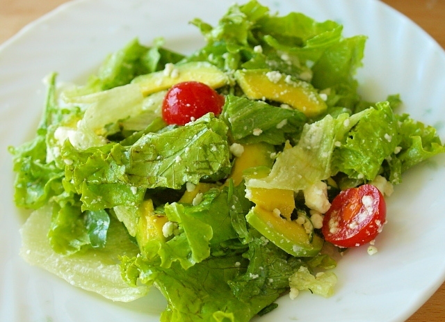 как приготовить салат з салату