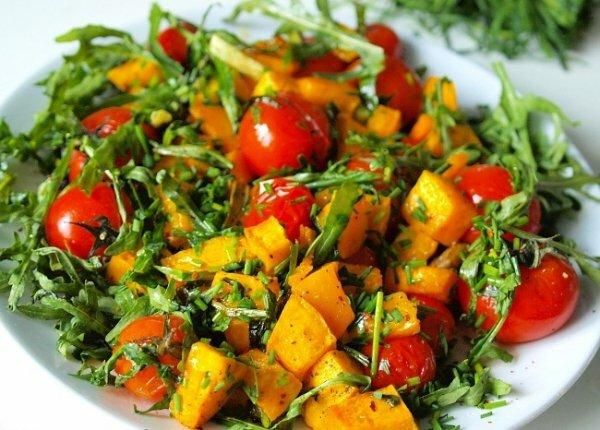 лучший салат из тыквы
