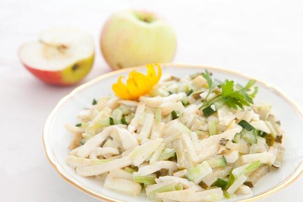 салат из кальмаров с луком рецепт