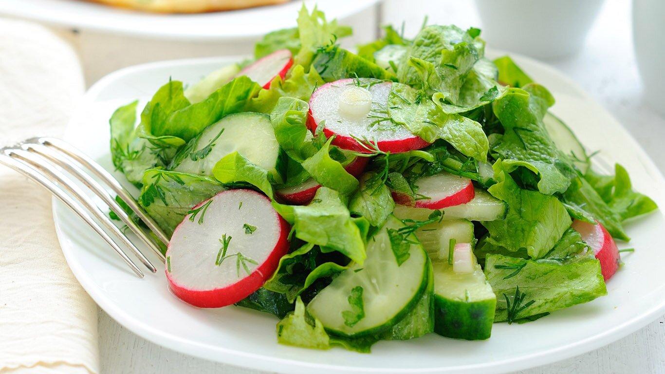 салат из редиски