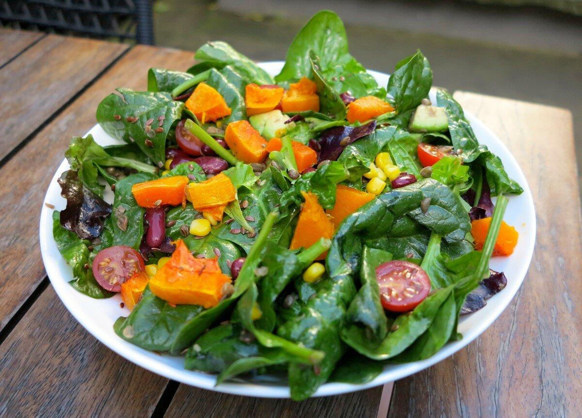 салат из тыквы рецепт приготовления