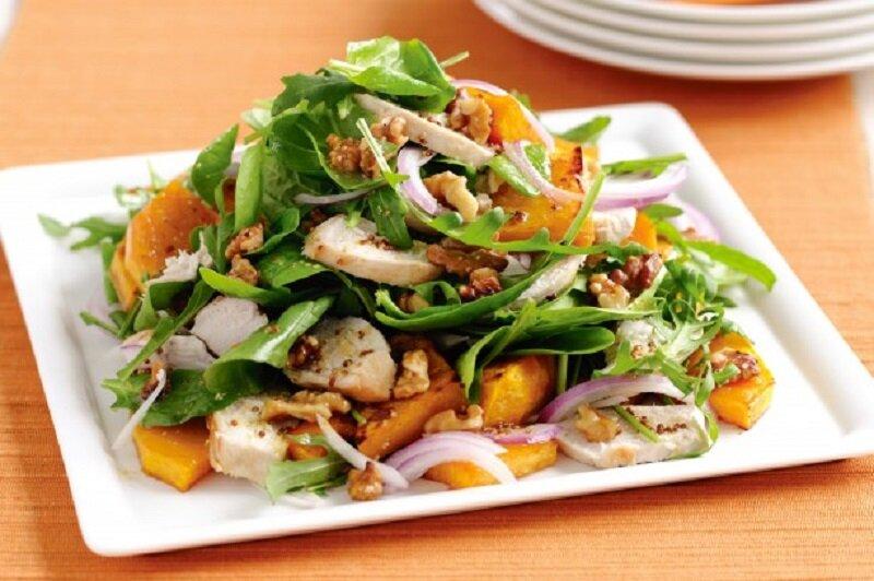 салат из тыквы рецепт с фото