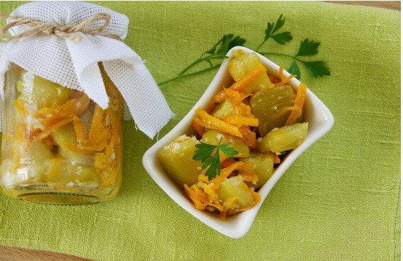 Закуска из кабачков на зиму рецепт
