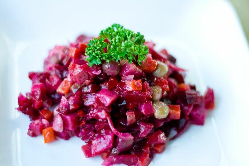 Классический салат винегрет рецепт с фото